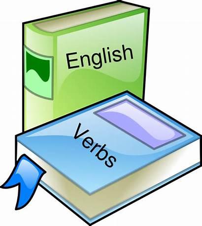 English Clipart Books Clip Cliparts Grammar Vector