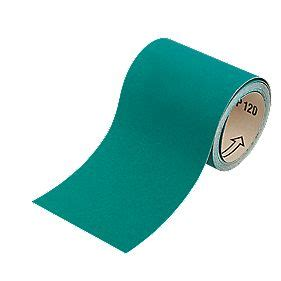 oakey liberty green sanding roll unpunched   mm
