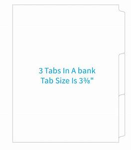 template downloads derby city litho commercial offset With 5 bank tabs