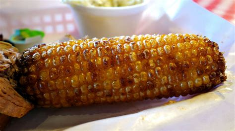 fried corn on the cob pappy s smokehouse roadfood