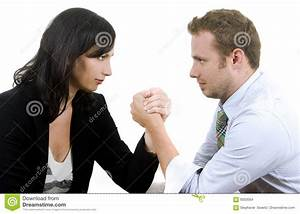 Male Vs  Female Stock Photo  Image Of Attorney  Foreground