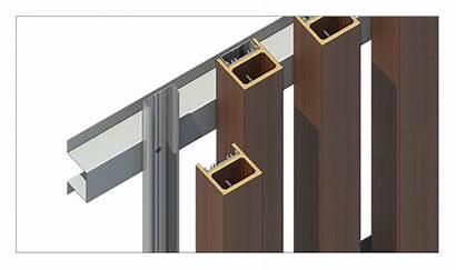 Timber Facade Screen Battens System Wood Screening
