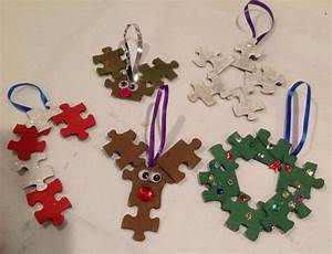 Puzzle Piece Ornaments: 5 Steps (with Pictures)