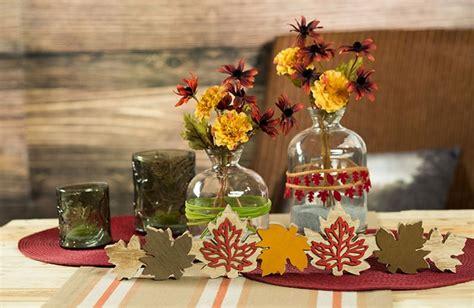 Herbstdeko Fenster Schnell by Tischdeko Einfach Und Schnell Herbst Wohn Design