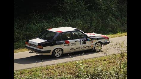 riedenburg classic  audi  quattro rallye onboard