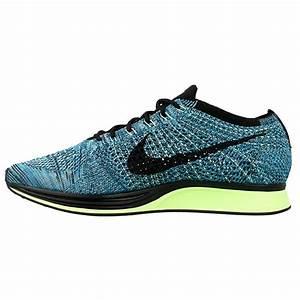 Nike Flyknit Racer 526628-401 | Black, Blue ⋆ EN Distance.eu  Nike