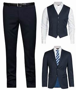 Marinblå kostym dressman