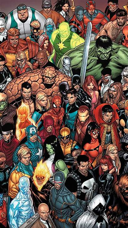 Marvel Comic Comics Wallpapers Iphone Wallpaperplay
