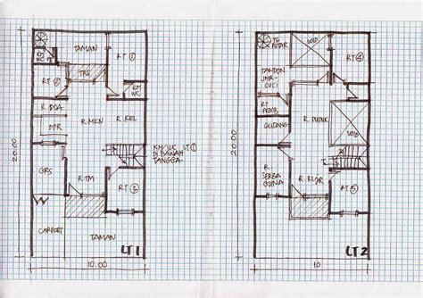 desain rumah minimalis  lantai ukuran  foto desain