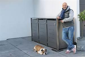 Mülltonnenbox Holz Anthrazit : m lltonnenboxen direkt vom hersteller ~ Whattoseeinmadrid.com Haus und Dekorationen