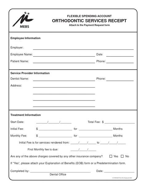 dental invoice spreadsheet templates  busines dental