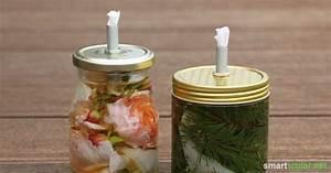 Kerzen Selber Machen Aus Alten Kerzen : duftende pflanzen l kerzen aus schraubgl sern basteln ~ Frokenaadalensverden.com Haus und Dekorationen
