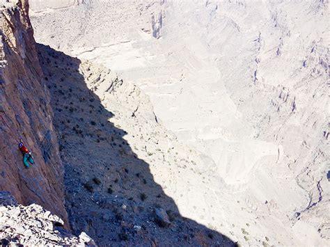 Climbing Oman Sand Rock Anchors