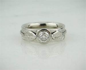 platinum and diamond wedding band engagement ring combo With wedding ring combo