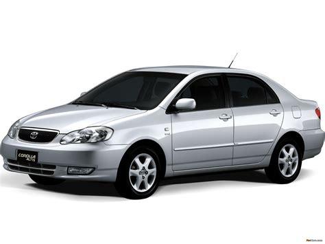 Toyota Corolla Altis (E120) 2003–07 images (2048x1536)