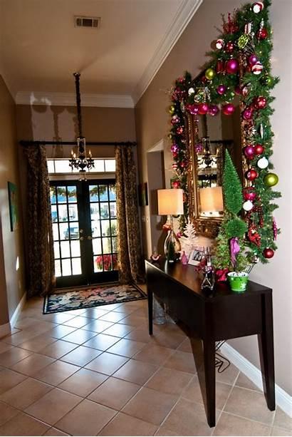 Christmas Decorations Indoor Decorating Inspiration Display Foyer