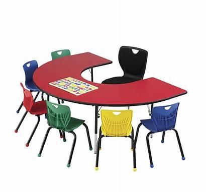Clipart Activity Classroom Horseshoe Clip Adjustable Select