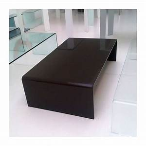 Table Basse Moderne : table basse moderne rectangulaire en verre bridge sovet ~ Melissatoandfro.com Idées de Décoration