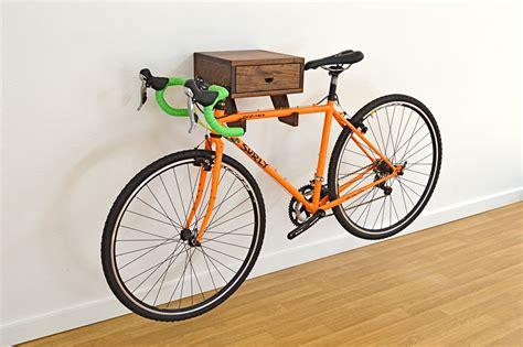 bike wall rack the clifton bike rack stylish wall mount indoor bike shelf