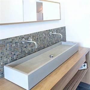 Waschtisch Aus Beton : waschtisch block waschtische aus beton betonm bel ~ Lizthompson.info Haus und Dekorationen