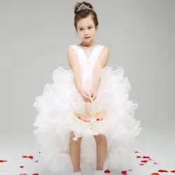 toddler dresses for weddings aliexpress buy white baby wedding dress princess flower dresses kid