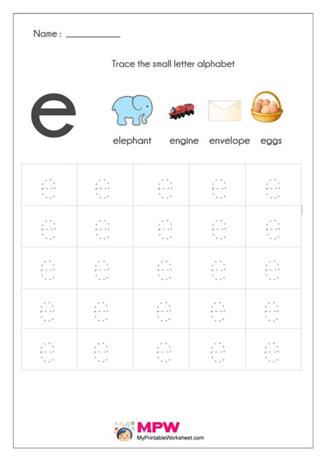 small letter alphabets tracing  writing worksheets