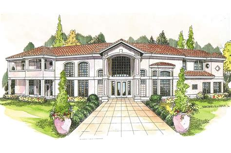 Mediteranian House Plans by Mediterranean House Plans Veracruz 11 118 Associated