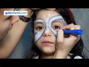 Modele Maquillage Carnaval Facile : kinderschminken schmetterling youtube ~ Melissatoandfro.com Idées de Décoration