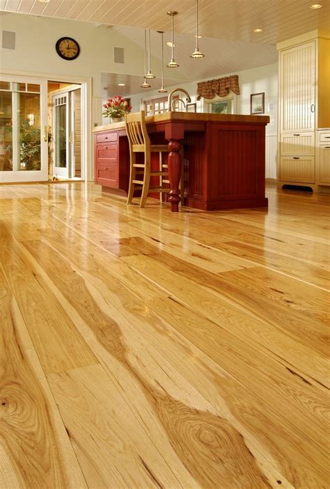 1000  images about Hickory flooring on Pinterest   Wide