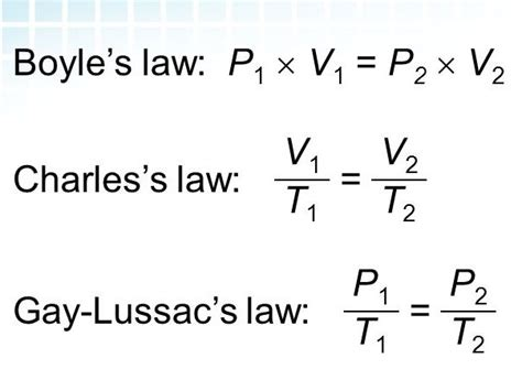 gas law pressure law charles law and boyle s law worksheets answers by will2share kam
