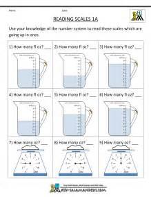 reading scales mass worksheets ks2 grade