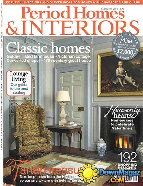 period homes interiors magazine february 2014