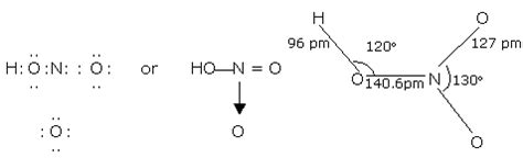 chem guide properties of nitric acid and uses