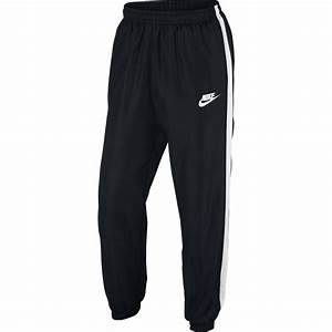 Nike Mens Sportswear Pants Black White Tennisnuts Com
