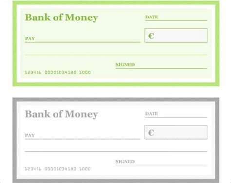 popular blank cheque templates word templates