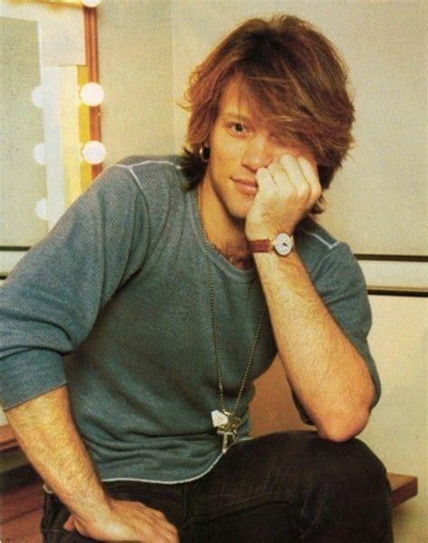 Cute Jon Bon Jovi Good Looking Guys Foreigners Pinterest