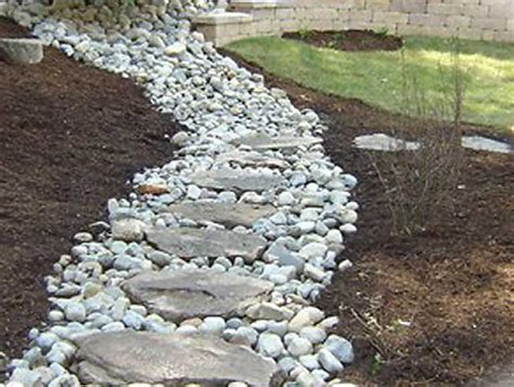 replacing mulch replacing mulch with pebbles the home depot community