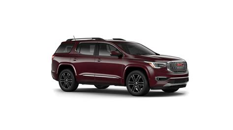 certified  gmc acadia  sale  lawley automotive center