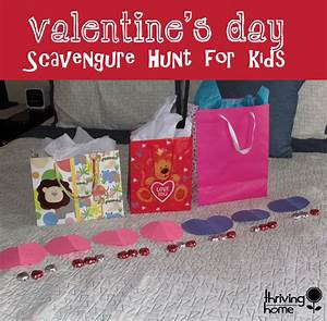 Valentine's Day Scavenger Hunt for Kids | Thriving Home