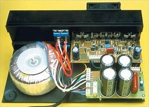 Collection Scheme Audio Power Amplifier High Power Mosfets