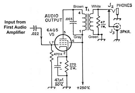 The Aav Superheterodyne Receiver Audio Power