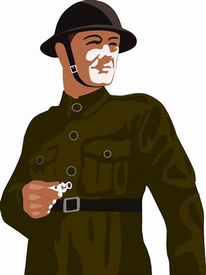 Ww2 Soldier Clipart Soldiers Warden Raid Air
