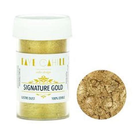 lustre cuisine cahill signature gold 22ml luxury edible lustre
