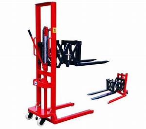 It Is Also Called Hydraulic Manual Forklift Stacker