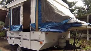2004 Flagstaff Tent Trailer Power Top Operation