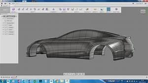 Car modeling Autodesk Online Gallery
