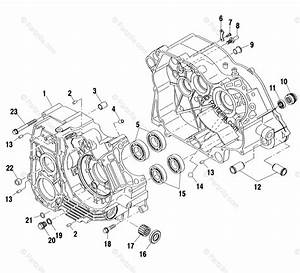 Polaris Atv 2002 Oem Parts Diagram For Crankcase