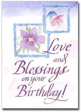 sisters  carmel love  blessings birthday card