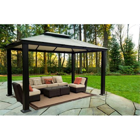 Gazebo Costo Review Costco Black Metal Gazebo Garden Landscape