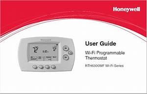 Honeywell Rth6580wf User U0026 39 S Guide